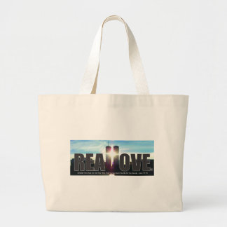 September 11 Twin Towers Real Love Jumbo Tote Bag