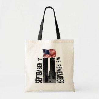 September 11 We Remember Budget Tote Bag