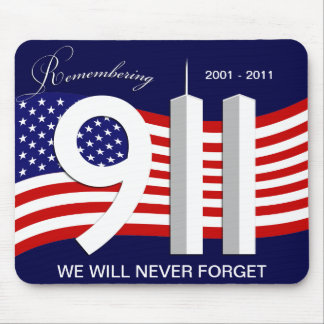 September 11th - 9/11 10th Anniversary Mousepad
