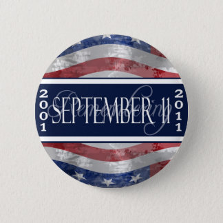 September 11th Commemorative Button