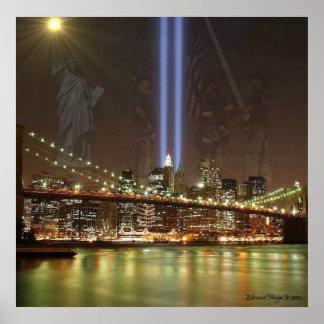 September 11th Memorial Print