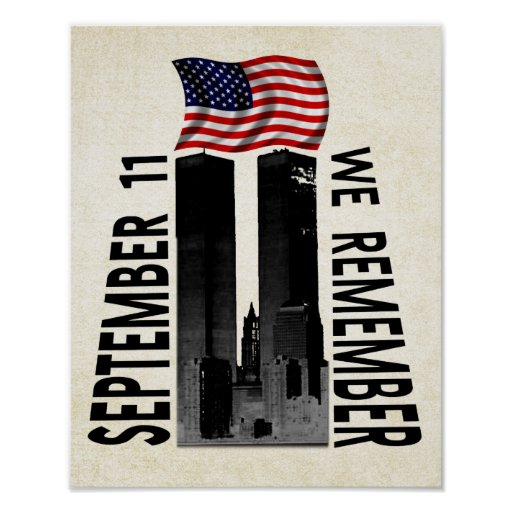 September 11th We Remember Print