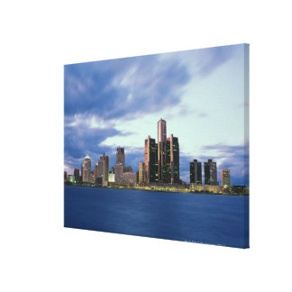 September 2000. From Windsor, Ontario, Canada Canvas Print
