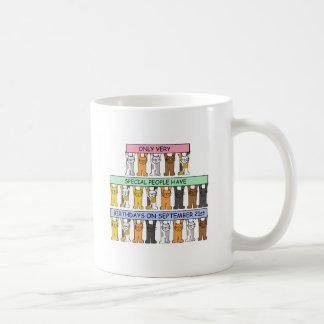 September 21st Birthdays for special people. Basic White Mug