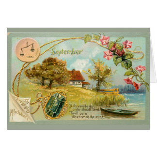 September Birthday Card