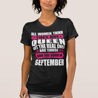 September Birthday Woman T-Shirt