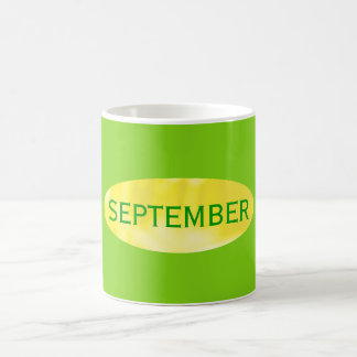 September Coffee Mug of the Month by Janz Green