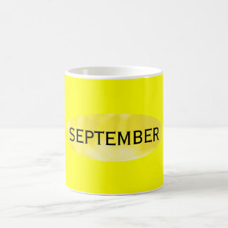September Coffee Mug of the Month by Janz Yellow