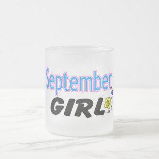 September Girl Mugs
