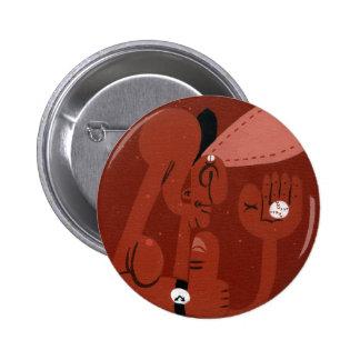 september pinback button