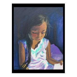 September Postcard 2: Girl Reading BRENNAN CENTER