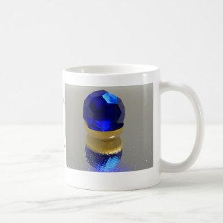 September, Sapphire Basic White Mug