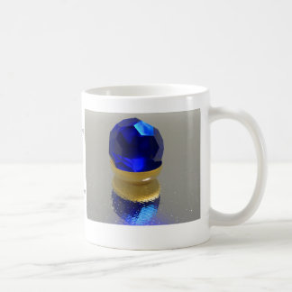 September, Sapphire Coffee Mugs