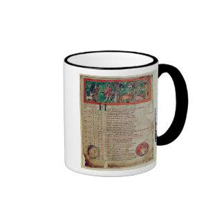 September: tending the boar, from a Calendar Coffee Mugs