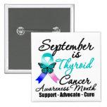 September Thyroid Cancer AWARENESS Month Badge