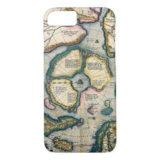 Septentrionalium terrarum descriptio, map of the A iPhone 8/7 Case