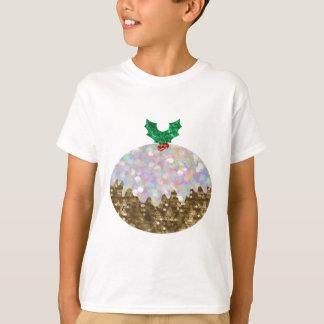 sequin christmas puddings T-Shirt