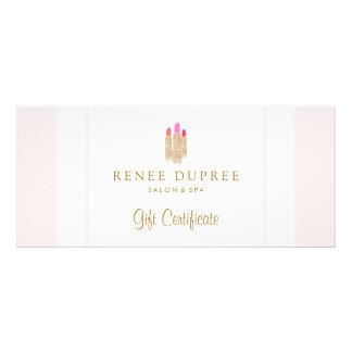 Sequin Lipstick Logo Salon & Spa Gift Certificate