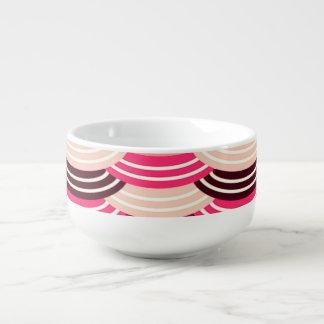 Sequin Pattern (earth) Soup Mug