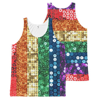 sequin pride flag tee shirt t-shirt top tank