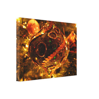 Sequined Christmas Decoration Canvas Prints
