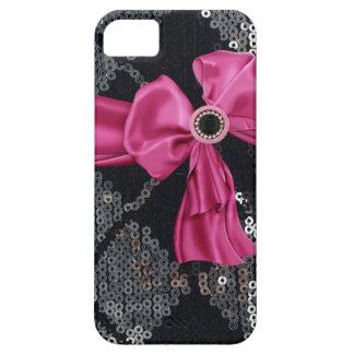Sequins,Bows & Rhinestones IPhone4 Case iPhone 5 Cases