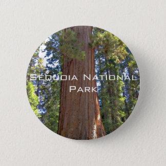 Sequoia National Park 6 Cm Round Badge