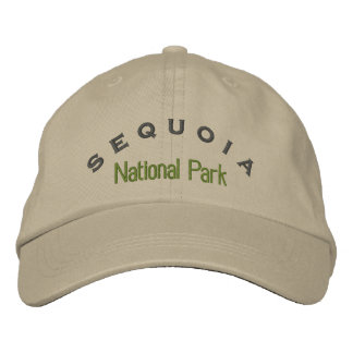 Sequoia National Park Embroidered Hat