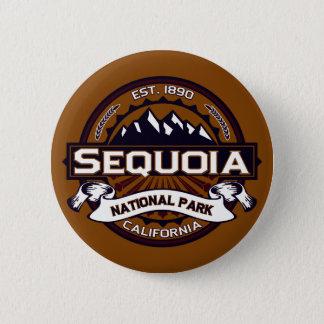 Sequoia National Park Logo 6 Cm Round Badge