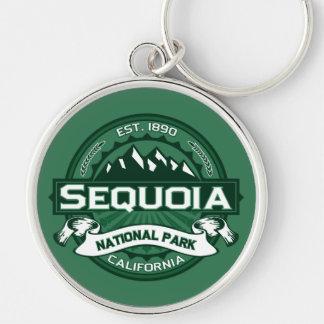 Sequoia National Park Logo Key Ring