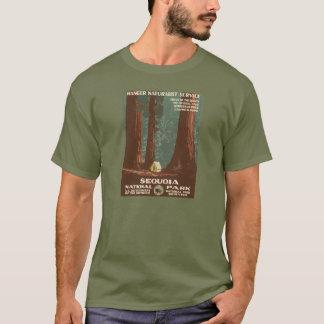 Sequoia National Park Vintage Travel Poster T-Shirt