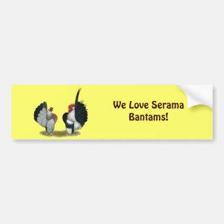 Serama Bantams Bumper Sticker