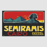 Seramis Hotel (Cairo Egypt) Rectangle Stickers