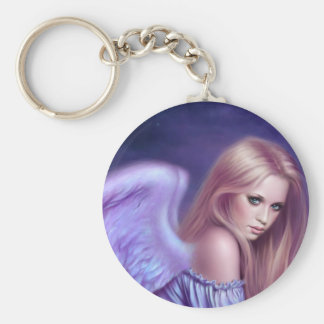 Seraphina Guardian Angel Art Keychain