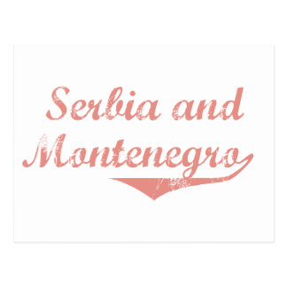 Serbia and Montenegro Revolution Style Postcard