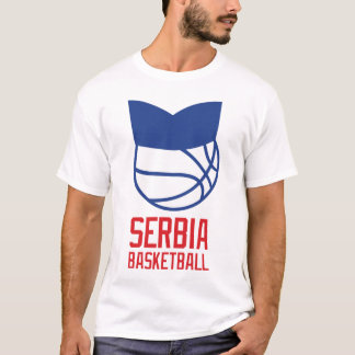 Serbia Basketball T-Shirt