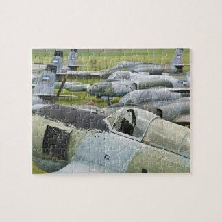 SERBIA, Belgrade. Yugoslav Aeronautical Museum Jigsaw Puzzle