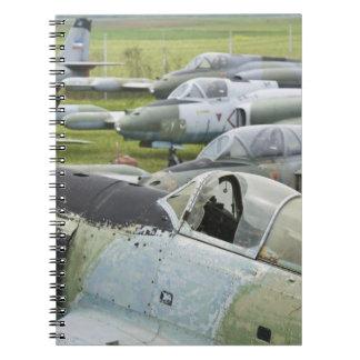 SERBIA, Belgrade. Yugoslav Aeronautical Museum Notebook