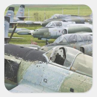 SERBIA, Belgrade. Yugoslav Aeronautical Museum Sticker