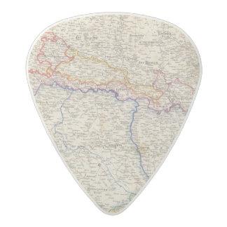 Serbia, Bosnia Acetal Guitar Pick