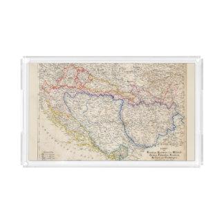 Serbia, Bosnia Acrylic Tray