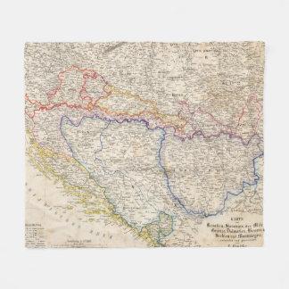 Serbia, Bosnia Fleece Blanket