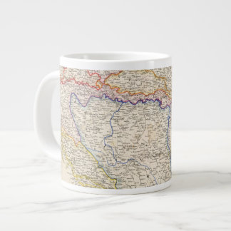 Serbia, Bosnia Large Coffee Mug