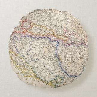 Serbia, Bosnia Round Cushion