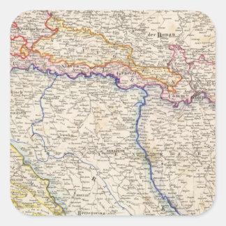 Serbia, Bosnia Square Sticker
