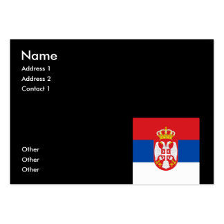 Serbia Business Card Templates