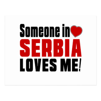 SERBIA Celebrating Years Of Being Awesome Postcard