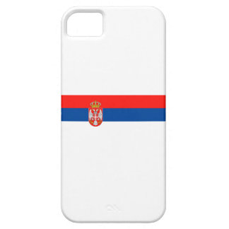 serbia country flag nation symbol name text iPhone 5 cover