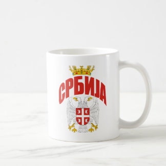 Serbia Cyrillic Coffee Mug