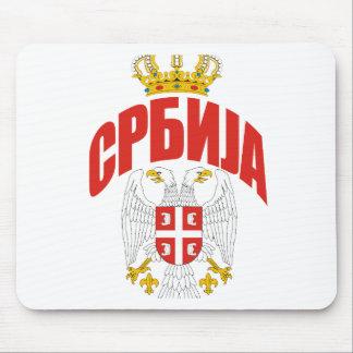 Serbia Cyrillic Mouse Mat